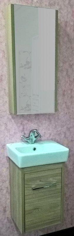 Sanflor Мебель для ванной Ларго 2 40 L вяз швейцарский