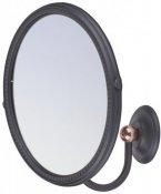 Art&Max Зеркало подвесное Sophia AM-2143-Nero/Br
