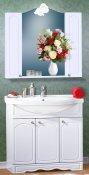 Бриклаер Мебель для ванной Лючия 90 белая