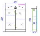 ASB-Mebel Мебель для ванной Мессина 80