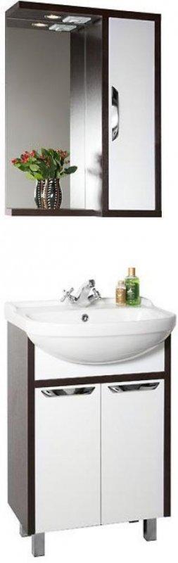 Водолей Комплект мебели Клаудия 55 R белый/венге