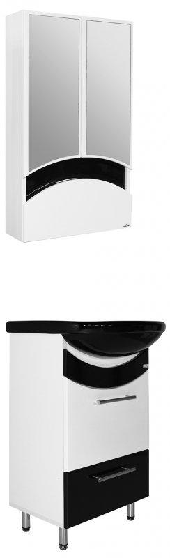 Mixline Мебель для ванной Радуга 52 черная