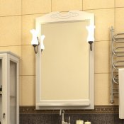 Opadiris Зеркало для ванной Клио 50 беленый бук