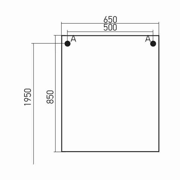 Mixline Мебель для ванной Боско 65