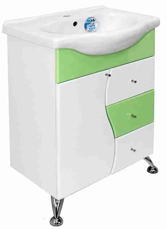 Mixline Мебель для ванной Венеция 60 зеленая