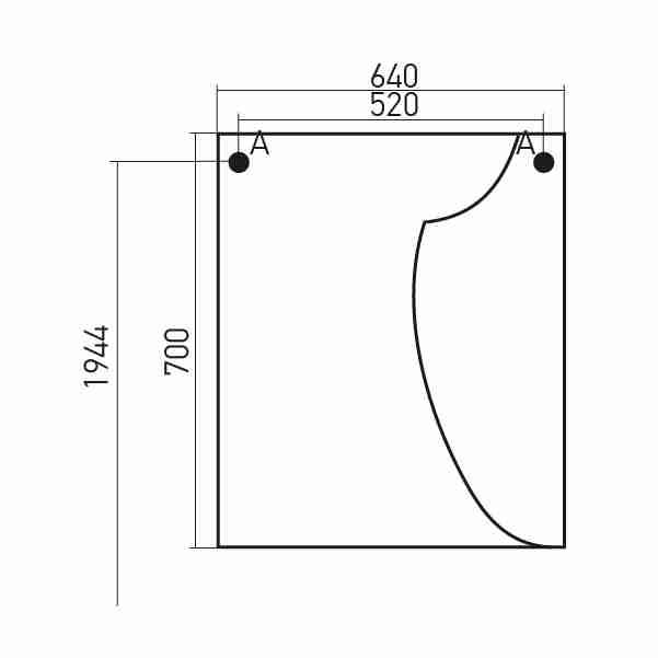 Mixline Мебель для ванной Глори 65 R