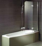 Riho Шторка на ванну Nautic N500 YUKON+NORA 160