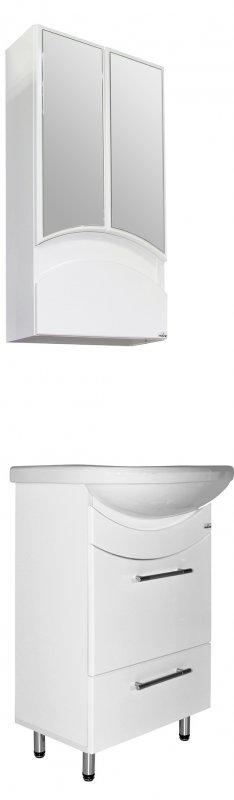 Mixline Мебель для ванной Радуга 52 белая