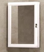 Opadiris Зеркало-шкаф для ванной Клио 45 L беленый бук