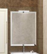 Smile Зеркало для ванной Сити 65 слоновая кость