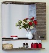 Sanflor Зеркало-шкаф Техас 60 венге, зебрано, R