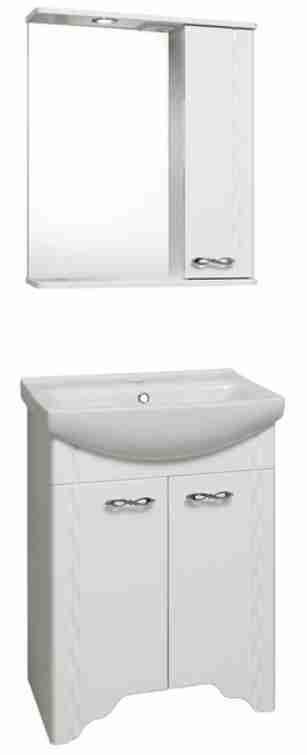 Runo Мебель для ванной Лотос 50