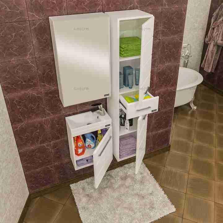 СанТа Мебель для ванной Омега 40 Como подвесная