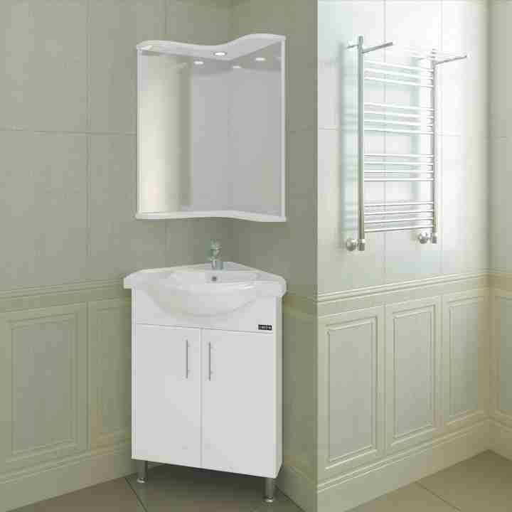 СанТа Мебель для ванной Аврора угловая