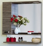 Sanflor Зеркало-шкаф Техас 60 венге, зебрано, L