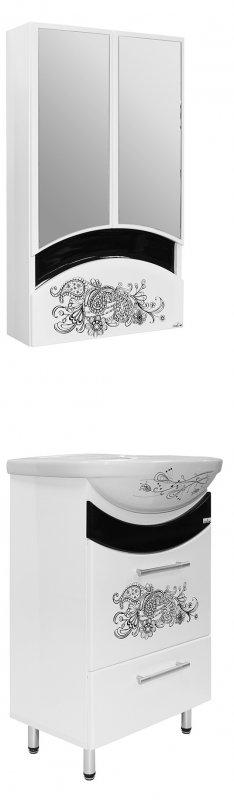 Mixline Мебель для ванной Радуга 50 цветы