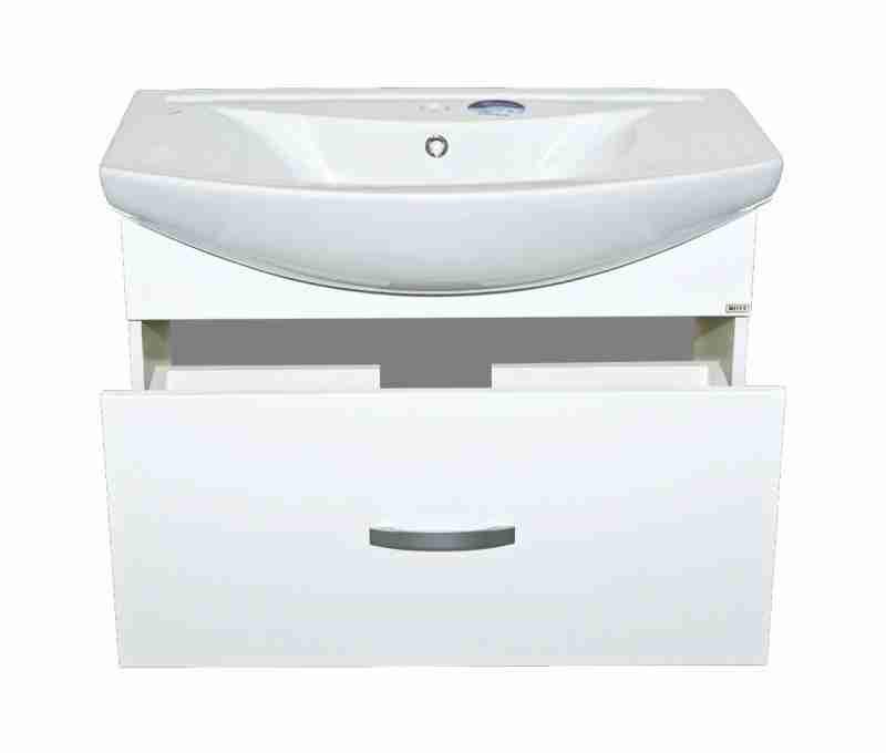 Misty Мебель для ванной Балтика 80 с 1 ящиком, подвесная