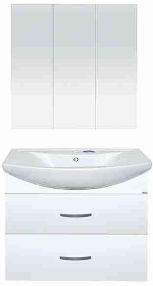 Misty Мебель для ванной Балтика 80 с 2 ящиками, подвесная