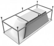 Relisan Каркас для ванн Relisan 140x70