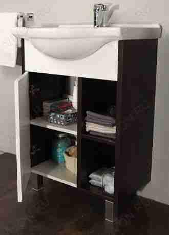 Акватон Мебель для ванной Крит 60 М с зеркалом