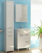 """Vigo Мебель для ванной """"Atlantic 1-55"""" L с подсветкой"""