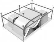 Vayer Каркас для ванны Coral 180x120