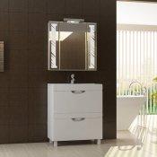 "Vigo Мебель для ванной ""Kolombo 70"" белая"