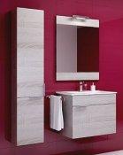 Aqwella Мебель для ванной Бриг 60 подвесная, дуб седой