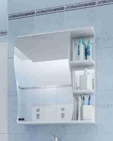 СанТа Мебель для ванной Сити Волна 60 L с ящиками
