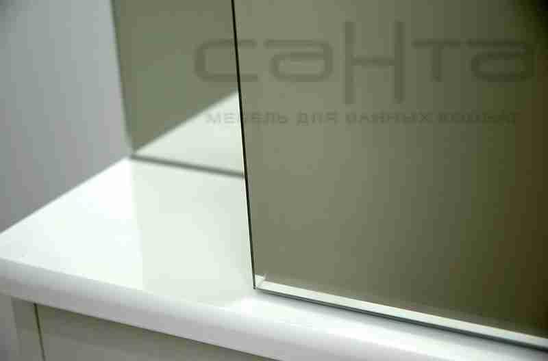 СанТа Мебель для ванной Сити Герда 50 свет