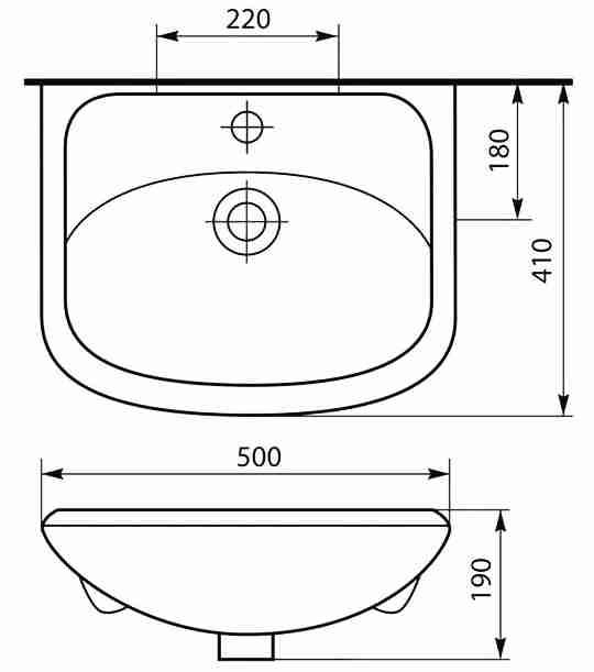 СанТа Мебель для ванной Сити Ника 50 R
