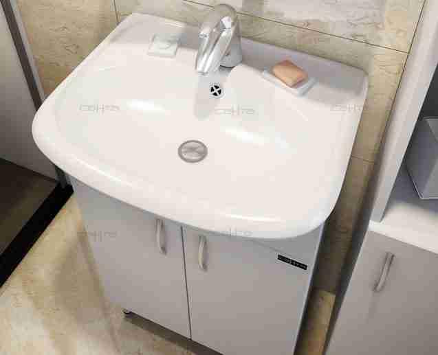 СанТа Мебель для ванной Сити Прима 50 универсальная