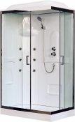 Royal Bath Душевая кабина  RB 8120HP2-T-CH L (прозрачное стекло)
