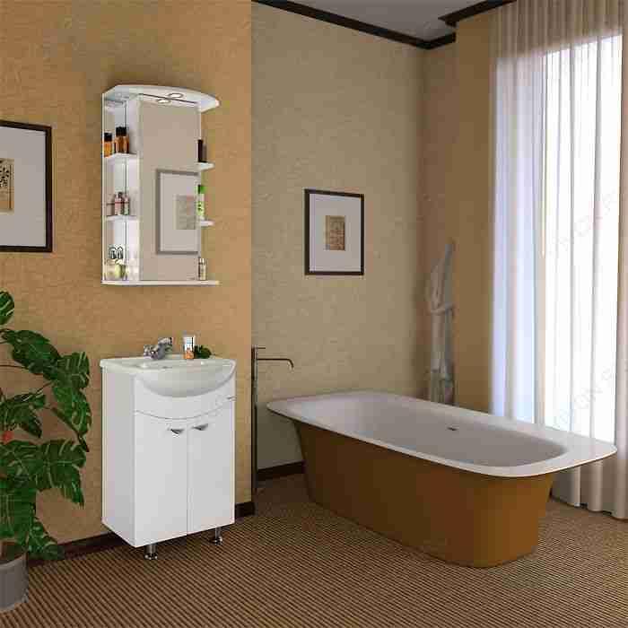 Водолей Мебель для ванной Эльба 55 L