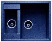 Granfest Мойка кухонная Quadro GF-Q610K Синий