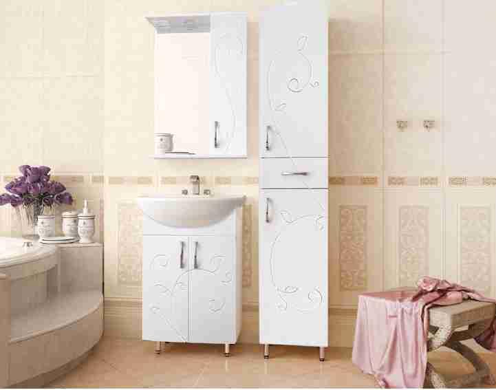 Style Line Мебель для ванной Фьюжн №9 55