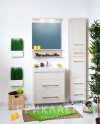 Бриклаер Мебель для ванной Чили 60 светлая лиственница