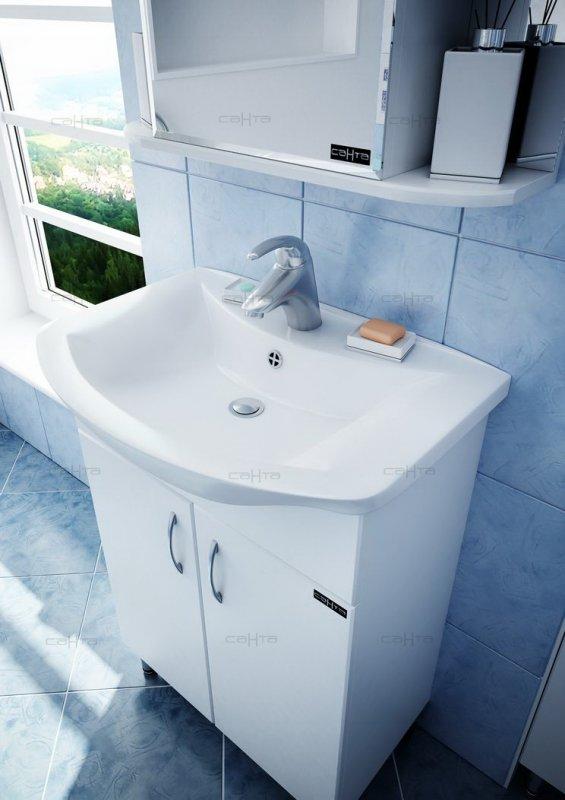 СанТа Мебель для ванной Грация Волна 60 R свет