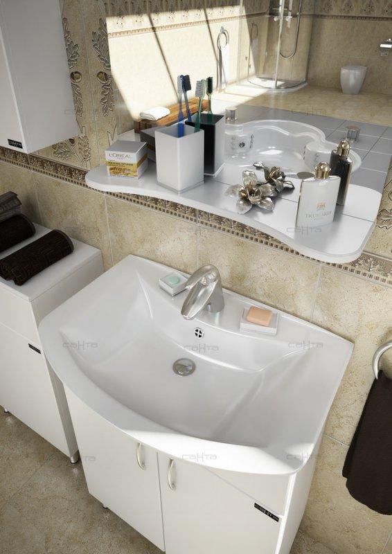 СанТа Мебель для ванной Грация Прима 60 R свет