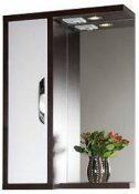Водолей Зеркальный шкаф Клаудия 55 L