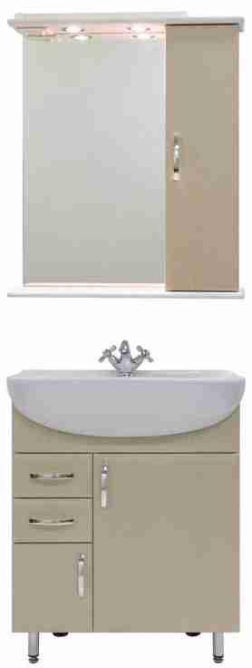 Водолей Мебель для ванной Колумбия 65 R дуб