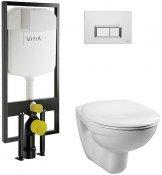 Vitra Комплект: Normus 9773B003-7200 кнопка хром