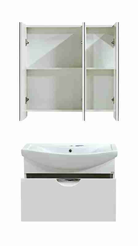 Misty Мебель для ванной Лаванда 80, 1 ящик, подвесная