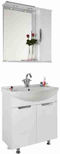 Водолей Мебель для ванной Лира 65 R белая