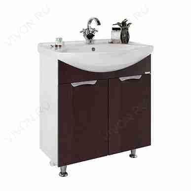 Водолей Мебель для ванной Лира 65 R венге