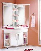 Акватон Мебель для ванной Лас-Вегас 100 R угловая