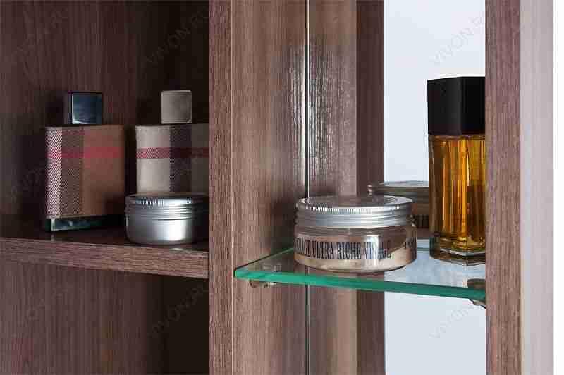 Водолей Мебель для ванной Мона 60 L с ящиками белая