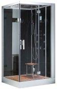 Eago Душевая кабина DZ959 F8 R черное стекло