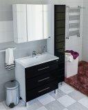СанТа Мебель для ванной Омега 100 напольная черная