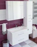 СанТа Мебель для ванной Омега 80 подвесная, зеркало Стандарт